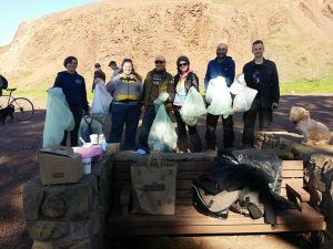 Bernal Hill Clean up 1-3-2015